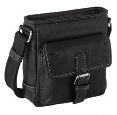 Crossovertasche Herren schwarz camel active Canada - Bags & more Messenger Bag, Camel, Satchel, Canada, Bags, Fashion, Artificial Leather, Handbags, Moda