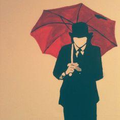Mayday Parade Umbrella Guy