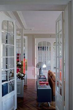 L'appart haussmannien de Sophie Hanniet, architecte décoratrice - CôtéMaison.fr