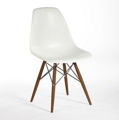 Replica DSW Chair White + Walnut (SET OF 4 CHAIRS) $143.10