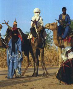 Woestijn Nomad Man Tuareg mannen in Niger