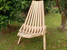 wooden stick chair