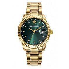 Chollo en Amazon España: Reloj Mark Maddox Golden Chic por solo 44,25€ (un 25% de descuento sobre el precio de venta recomendado y precio mínimo histórico)