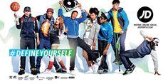 Define Yourself Advert - JD Sports