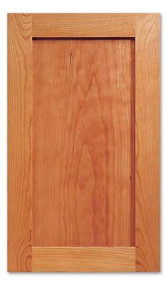 Shaker Style Cabinet Door, Unfinished :: The image shown may not reflect the type of wood selected