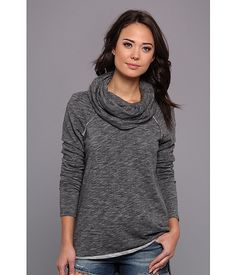 Free People Cocoon Love Pullover Charcoal - Zappos.com Free Shipping BOTH Ways