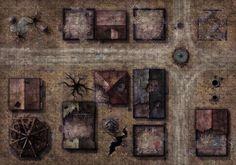 Image result for d&d town battle map