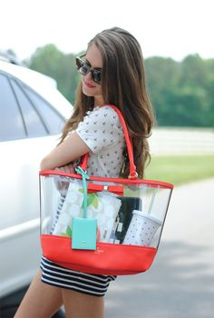 Southern Curls & Pearls: #TravelColorfully with Kate Spade