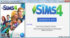 Sims 4 Key Generator Tool Full Game Activation PC PS4