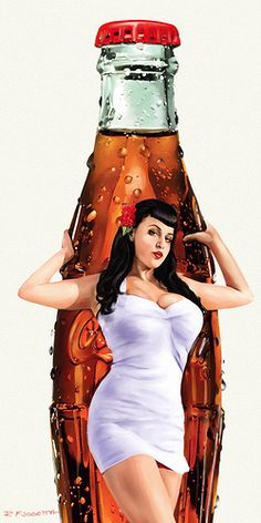 Coca Cola Darla - Coca Cola - Ideas of Coca Cola - Ideas of Coca Cola - vin pinup Coca Cola Poster, Coca Cola Ad, Coca Cola Bottles, Pepsi, Vintage Advertisements, Vintage Ads, Vintage Signs, Dibujos Pin Up, Vaquera Sexy