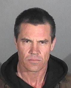 Actor Josh Brolin was arrested by California cops in January 2013 and charged with public intoxication. According to police, the 44-year-old movie star was found heavily intoxicated on a Santa Monica sidewalk and taken into custody where he posed for the above mug shot before sobering up and being released.