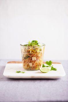Pad Thai Noodle Soup from Superfood Soups | vegetarian pad thai noodle soup recipe | cookbook | ohmyveggies.com