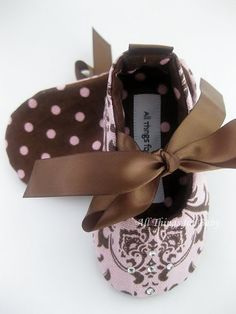 Baby girl shoes French inspired mary jane ballet flat- Mademoiselle. $28.00, via Etsy.
