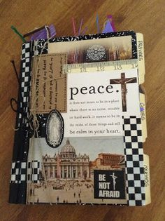 Smash Prayer Journals- Another take on the junk journal/smash book trend, except using them to help teens create opportunities for prayer. Look to Him and be Radiant