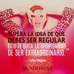 frases, regular, idea, extraordinario http://www.mundorosa.com.mx