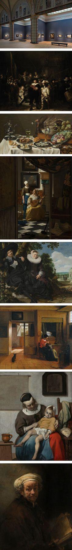 Rijksmuseum reopens, Rembrandt van Rijn, Pieter Claesz, Johannes Vermeer, Frans Hals, Pieter de Hooch, Gabriël Metsu, Rembrandt van Rijn