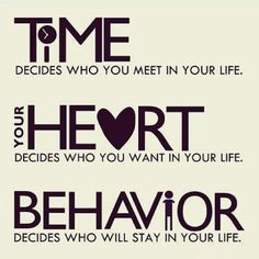 Time, heart and behavior.