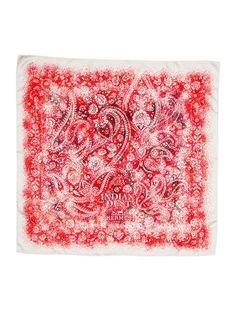 Hermes 'Indian Dust' Silk Scarf