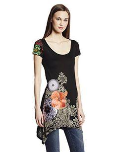 DESIGUAL Women Designer Top T-Shirt - ALACANT -XXL Desigual http://www.amazon.co.uk/dp/B00ITSWHLU/ref=cm_sw_r_pi_dp_NkA.wb1QB7Q6J