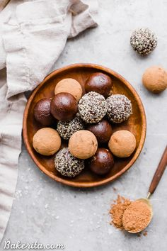 Raw ChocolateTruffles