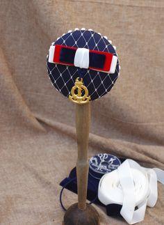 Hello Sailor Headpiecefor 50s beach wedding Fascinators, Headpieces, Vintage Stil, Sailor, Beach, Wedding, Style, Navy Paint, Wedding On The Beach