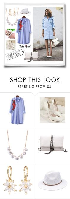 """rosegal look for less II"" by caroline-buster-brown ❤ liked on Polyvore"