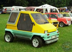 """The Alto Duo Mini Kitcar. Seems very familiar doesn't it???  Yes it's very """"Smart Car"""" isn't it, only 10+ years before the Smart Car hit the road... well they do say that no ideas are new ideas!"""