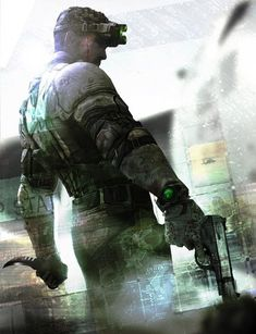 #SplinterCellBlacklist #SplinterCell #SamFisher #Sigilo #Games #VideoGames #FourthEchelon #NSA Splinter Cell Blacklist, Tom Clancy's Splinter Cell, Video Game Characters, Fictional Characters, Special Ops, Martial Artists, Black Ops, Post Apocalyptic, Cyberpunk