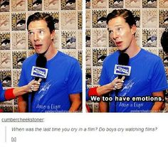 Sarcasm level - infinity. <- that's what happen when you hang out with Martin Freeman