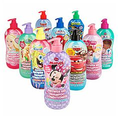 Kid's Character All-In-One Shower Gel, Shampoo & Conditioners at Big Lots.