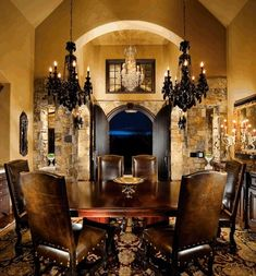 old world dining