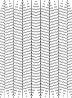 lines & patterns straight // black & white pattern // chevrons