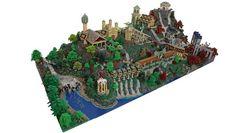 Rivendell del Signore degli Anelli ricreata con 200.000 LEGO 11