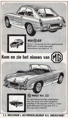 Dutch sales advertisement from the official head-dealer for Holland. February 1967