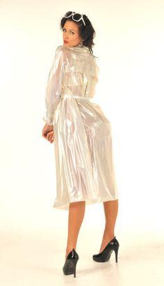 Pvc Raincoat, Raincoat Jacket, Plastic Raincoat, Imper Pvc, Transparent Raincoat, Plastic Mac, Latex Wear, Long Leather Coat, Topshop