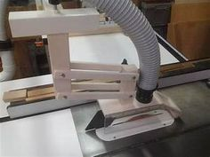 Shop built table saw overarm dust collection hood... - Woodworking Talk - Woodworkers Forum ...