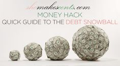 Easy Money Snowball- PIN NOW READ LATER via @shemakescents