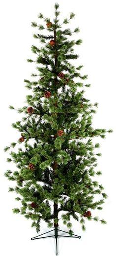 Premier Blue Ridge Pine Artificial Christmas Tree #Christmas #Trees
