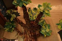 weird animals vbs trees | ten foot tall trees out of paper,,, no problem