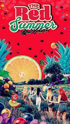 red velvet / jummer / #irene #joy #kpop #red #velvet #wendy #yeri #seulgi #lockscreen #reveluv #wallpaper #theredsummer