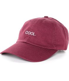 nice Empyre Solstice Cool Burgundy Baseball Hat