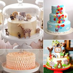 54 Fabulous and Unique Birthday Cakes For Baby and Tot