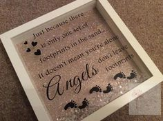 Angel shadow box