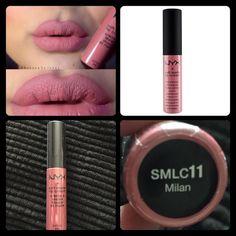 NYX Soft Matte Lip Cream Milan Milan NYX Makeup Lip Balm & Gloss