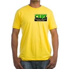CERT Yellow TShirt - get good visibility during a disaster with this bold Yellow TShirt #Yellow #CERT #CommunityEmergencyResponseTeam #Survivalist #Survival #Preparedness #Prepper #Homesteading #Homestead #Hoodie #CERTGear #SHTF #YellowTShirt #YellowCERTShirt