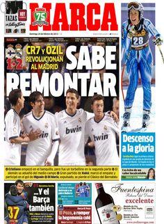 'Sabe remontar' | La portada del 24 de febrero de 2013