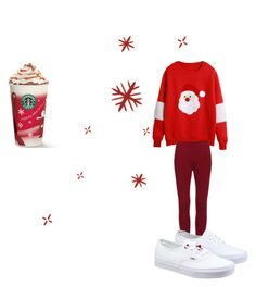 """""""christmas night"""" by angelina-plimpton ❤ liked on Polyvore featuring Vans"""