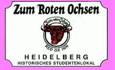 Zum Roten Ochsen Heidelberg - eines der ältesten und traditionsreichsten Studentenlokale Heidelbergs !