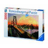 Ravensburger San Francisco At Night - 3000 Pieces Puzzle: Ravensburger San Francisco AT Night Jigsaw Puzzle.