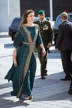 La reine Rania et le roi Abdallah II de Jordanie ont commémoré le centenaire de la Grande révolte arabe avec le prince Hussein et de la princesse Salma.